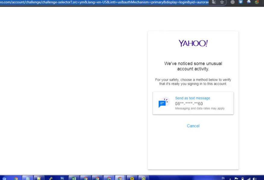 yahoo terkunci - Email Yahoo Terkunci & Minta Verifikasi HP OTP